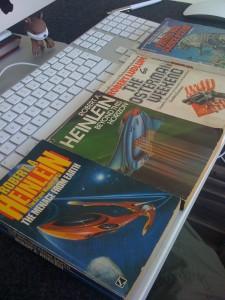 SF pulp van Heinlein gekocht op de boekenmarkt in Middelburg